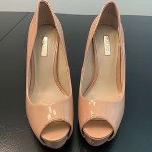 Guess Peep Toe Pumps